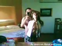 Free Sex Homemade Video Of The Mexican Slut Fucked In A Harsh Way