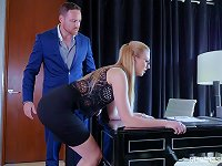 Free Sex Small Tits Alexa Grace Giving Dick Blowjob In The Office