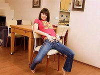 Free Sex Ayane Takes Off Her Jeans For A Sex Session With A Carrot