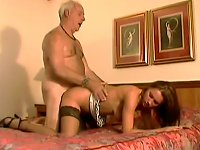 Free Sex Old Man Shows An Sexy Teen What He's Made Of