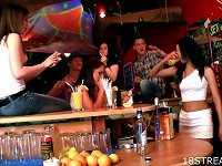Free Sex Teens Eat  In The Bar For Viewers