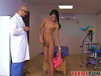 Free Sex Cute Nataly Gold Gets The Doctors Cock In All Of Her Holes