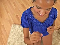 Free Sex Naughty Latina Teen Jessica Albarez Pleasing A Dick In Pov Blowjob Vid
