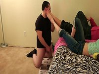 Free Sex Humiliated By Young Girls Toes