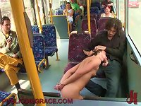 Free Sex Sexy Teen Gives Some Great Head  Of Public Transportation