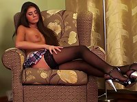 Free Sex Skirt And Stockings On Cute Teen Girl