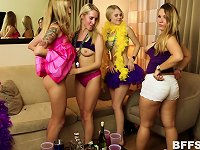 Free Sex Mardi Gras Party Girls Invite Guys Home With Them For An Orgy