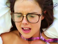 Free Sex Alluring Teen In Glasses Is Sucking So Hot