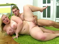 Free Sex Bulky Blond Student Gets Her Chubby Shaved Hootchie Nailed Hard Sideways Pose