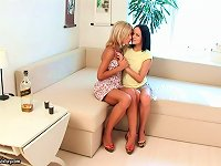 Free Sex Two Horny Lesbians With A