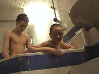 Free Sex Doggystyle Teen Sex In The Bathtub With A Cutie