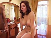 Free Sex Black Cock Fucks A Sexy Euro Babe With Big Tits