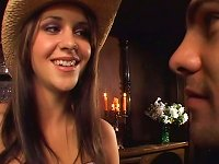 Free Sex Delicious Cowgirl Kinzie Kenner Makes Handsome Dude Eat Her Snatch