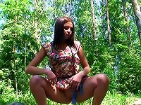 Free Sex Teen In Cute Dress Pisses Outdoors