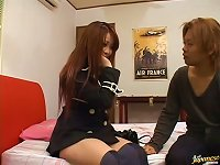 Free Sex Pretty Japanese Teen Gets  And Fucked Doggy Style